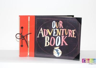 Regalo novedoso libro de aventuras