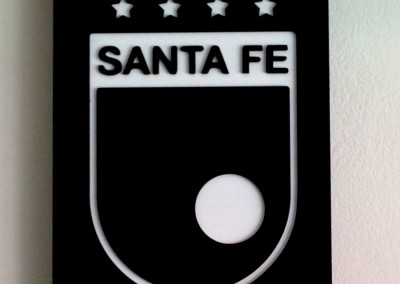Cuadro Santa Fe en acrilico